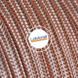 ROUND ELECTRIC CABLE COVERED IN METAL COPPER ME00