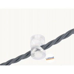 DECENTRALIZER FOR TEXTILE CABLES. TRANSPARENT
