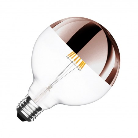 Globe type LED bulb lamp Copper - E27