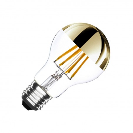 Sphere type LED bulb lamp Brass - E27