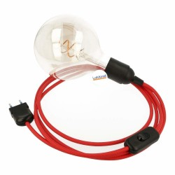 SNAKE 2.0 WITH RED TEXTILE CABLE LM05