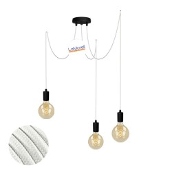 MULTI PENDANT, SUSPENDED LAMP, WITH WHITE LM01