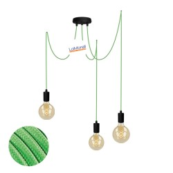 MULTI PENDANT, SUSPENDED LAMP, WITH KIWI LM16