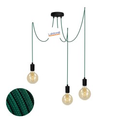 MULTI PENDANT, SUSPENDED LAMP, WITH PETROLEUM LM20