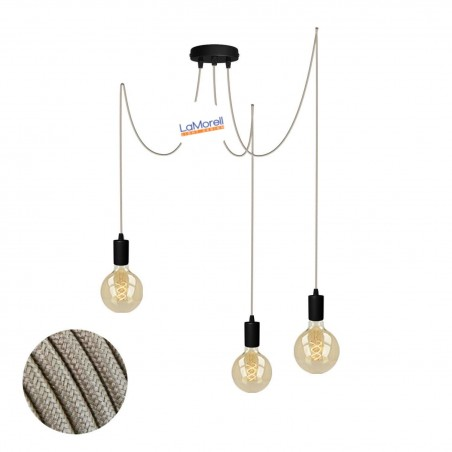 MULTI PENDANT, SUSPENDED LAMP, WITH SAND LM55