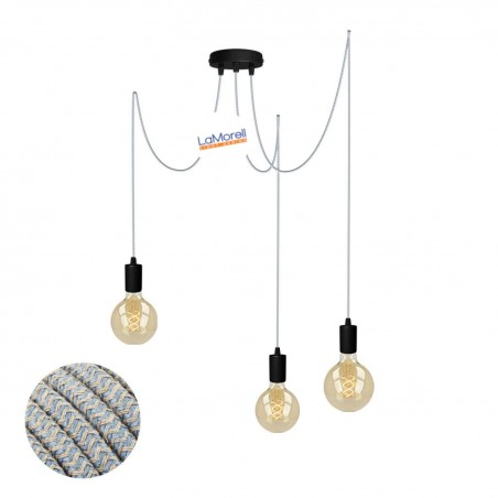 MULTI PENDANT, SUSPENDED LAMP, WITH SAND/AVIO LM67