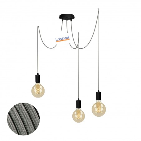 MULTI PENDANT, SUSPENDED LAMP, WITH MOUSE LM18