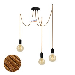 MULTI PENDANT, SUSPENDED LAMP, WITH WHISKEY LM77