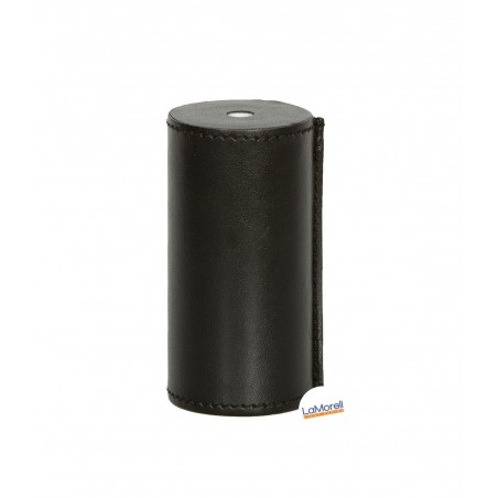 PVC COVER FOR LAMPHOLDER LEATHER COVERED - BLACK