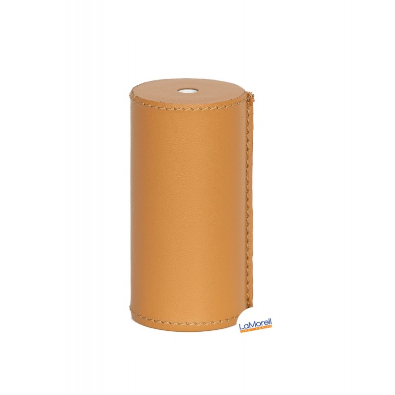 PVC COVER FOR LAMPHOLDER LEATHER COVERED - HONEY