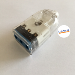 TRANSPARENT SOCKET 10AT 250V