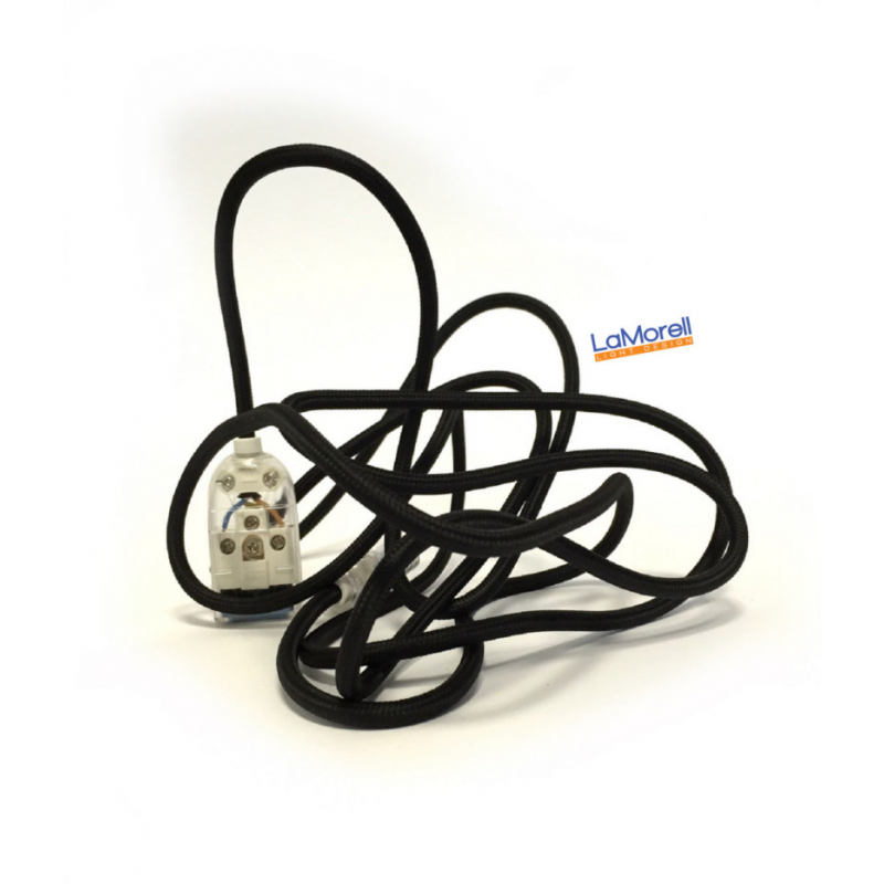 Extension Cord LM10 Black 3x0,75