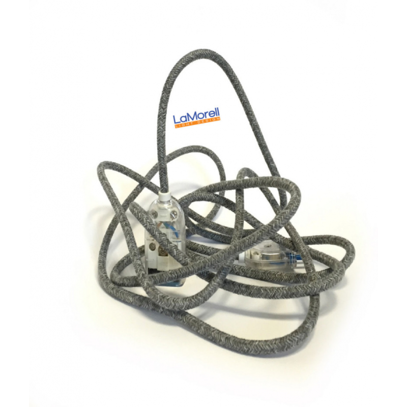 Extension Cord LM22 Canvas Grey 3x0,75