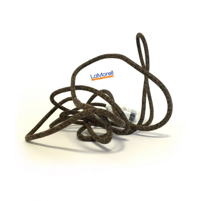 Extension Cord LM24 Canvas Brown 3x0,75