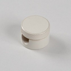 METAL DECENTRALIZER FOR TEXTILE CABLES. WHITE