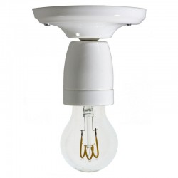 Punto Luce in Porcelain, White